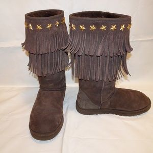 UGG Jimmy Choo Boots | Choco Brown | 7